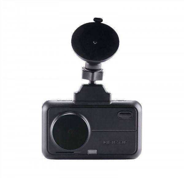 Видеорегистратор INCAR SDR-180 Manhattan Ultra HD 4K с сигнатурным радар детектором и GPS информатором + дополнительная камера