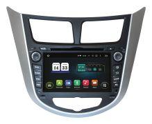 Штатная магнитола Incar TSA-2487A9 для Hyundai Accent 2011+