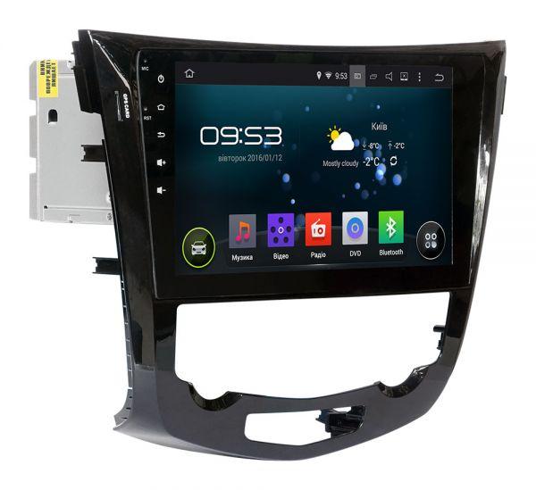 Штатная магнитола Incar AHR-6281A4 для Nissan Qashqai, X-Trail 2014+ Climat