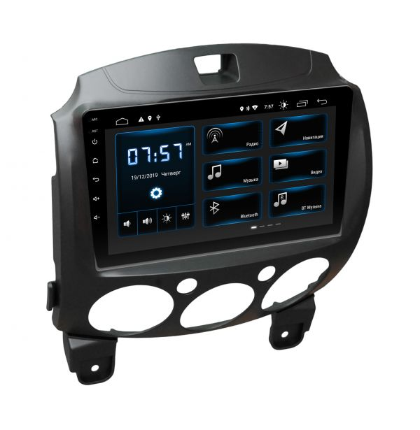 Штатная магнитола Incar XTA-0235 для Mazda 2 2007-2014