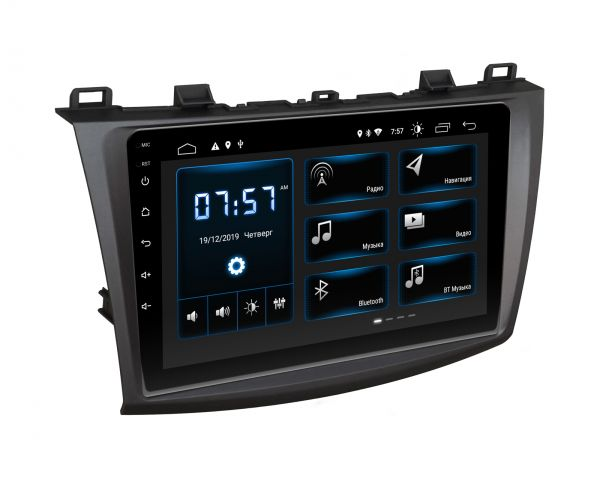 Штатная магнитола Incar XTA-0231 для Mazda 3 2009-2013