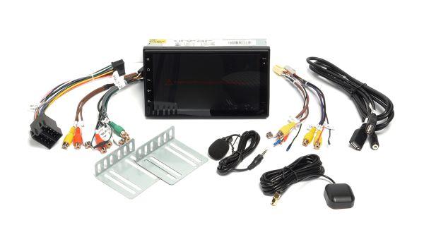 Магнитола 2DIN INCAR TSA-9110 с процессором звука