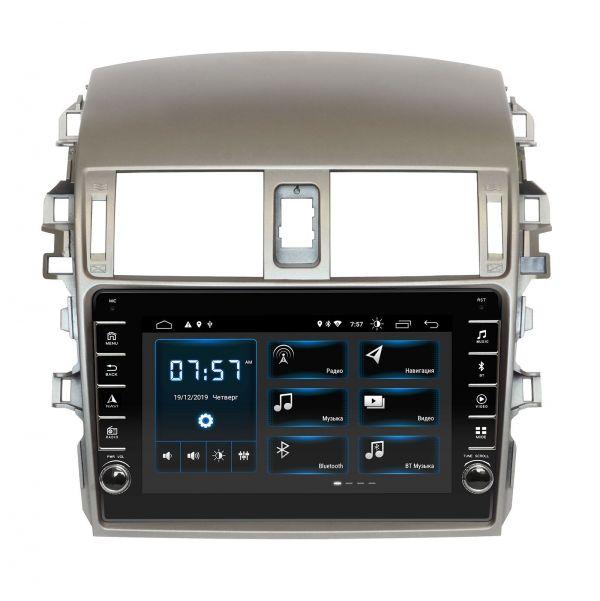 Штатная магнитола Incar DTA-1441R для Toyota Corolla 2009-2012