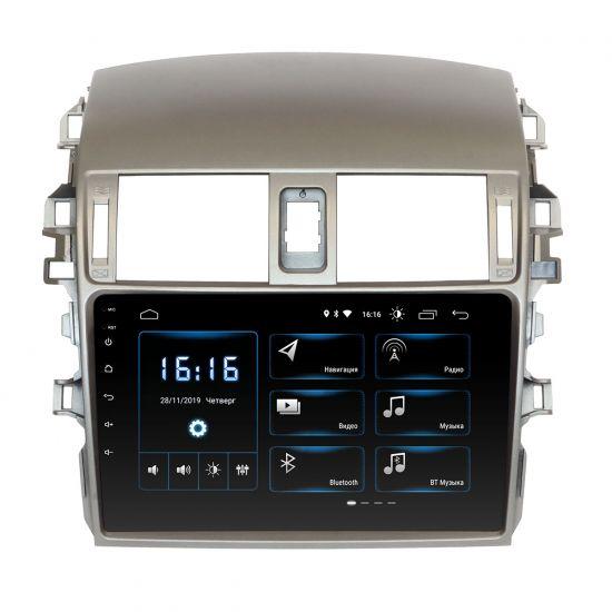 Штатная магнитола Incar XTA-1441 для Toyota Corolla 2009-2012